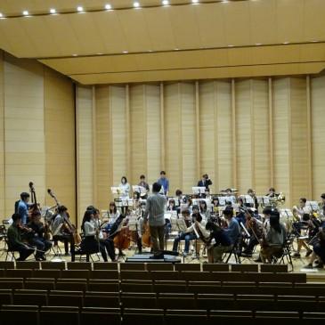 4月26、27日のNHK交響楽団第1コンサートマスター篠崎氏をお迎えしての公開トレーニングについて