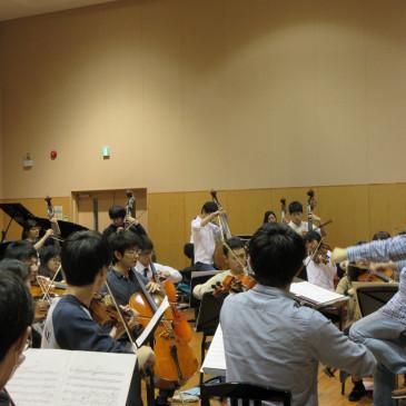 10/29定期演奏会全体トレーニング