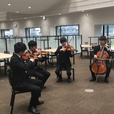 依頼演奏@新中央図書館オープンセレモニー
