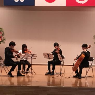 依頼演奏@福岡女子大学 開学記念式典(ホームカミングデー)