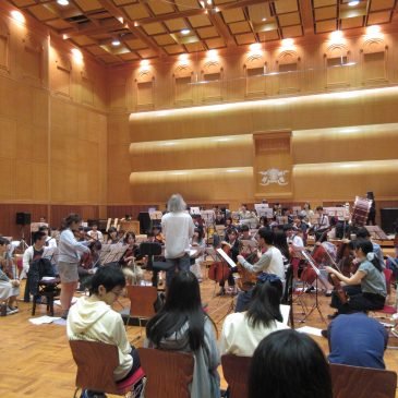 第2回指揮者リハーサル